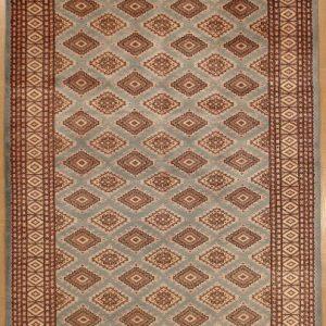 Afghan Bokhara Rug Gray - Lotfy