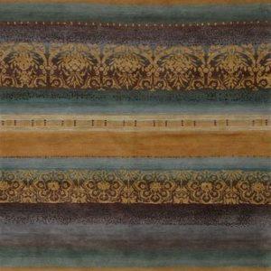 Arabesque Gold Tibetan Rug
