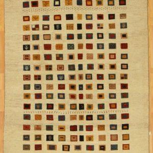 CT Multi-colored Squares Rug #5281