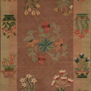 Tibetan Rug Healing Botanical Kitchey