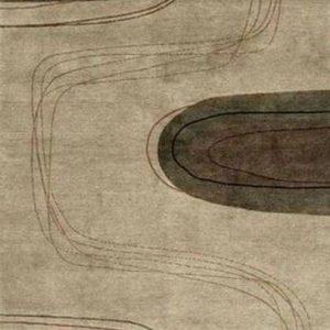 Meander Beige by Tibet Rug Company