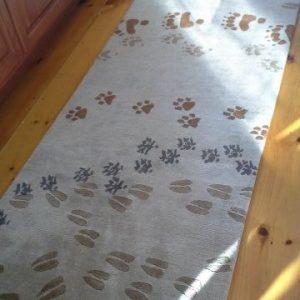 Animal Prints Tibetan Rug