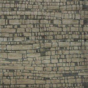 Stones Grey Tibetan Rug