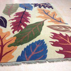 Tibetan Leaf Custom Rug
