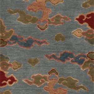 Tibetan Rug Sky Blue