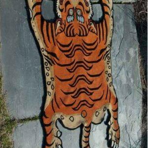 Tiger Tibetan Rug